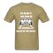 My Beard Is The King Of The Controller, Ruler Of the Couch Men's T-Shirt - khaki