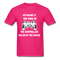 My Beard Is The King Of The Controller, Ruler Of the Couch Men's T-Shirt - fuchsia