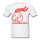 Goateelicious Men's T-Shirt - white