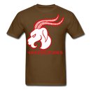 Goateelicious Men's T-Shirt - brown