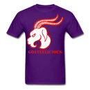 Goateelicious Men's T-Shirt - purple