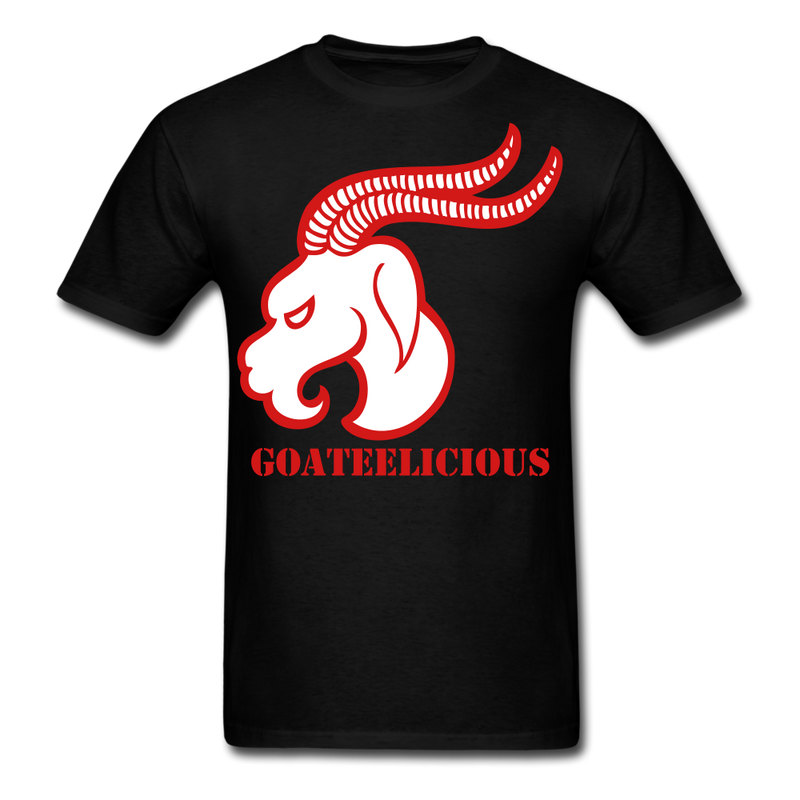 Goateelicious Men's T-Shirt - black