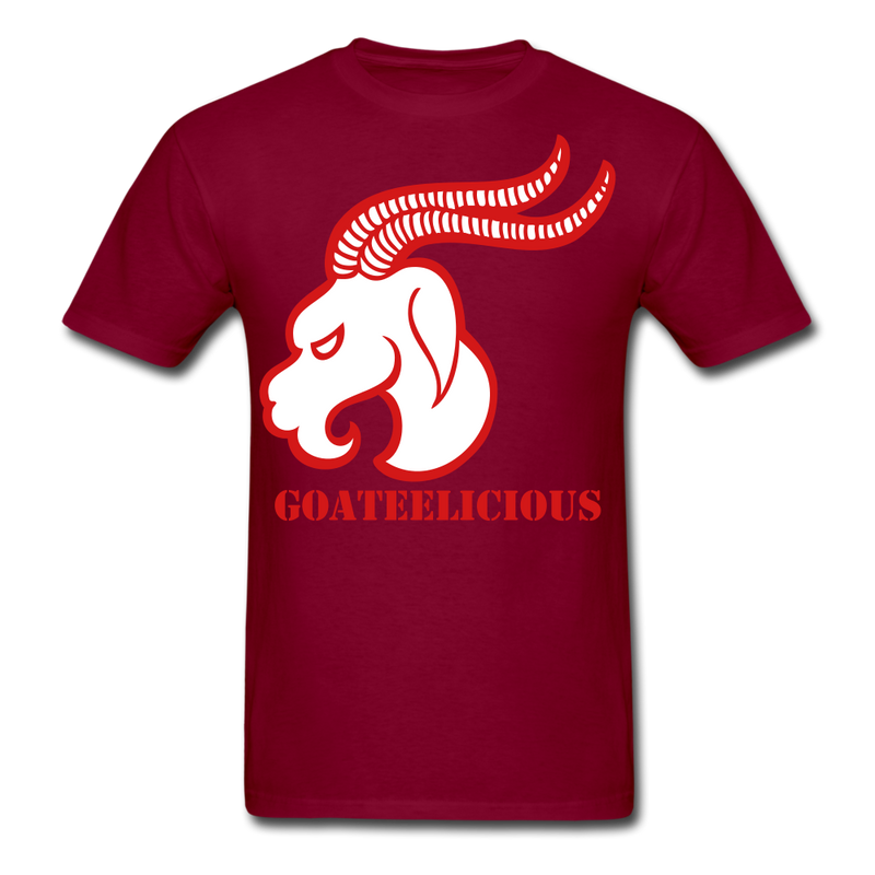 Goateelicious Men's T-Shirt - burgundy