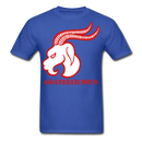 Goateelicious Men's T-Shirt - royal blue
