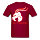 Goateelicious Men's T-Shirt - dark red