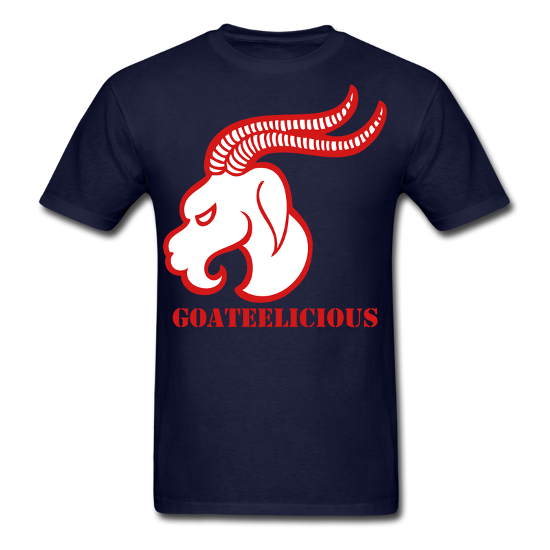 Goateelicious Men's T-Shirt - navy