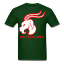 Goateelicious Men's T-Shirt - forest green