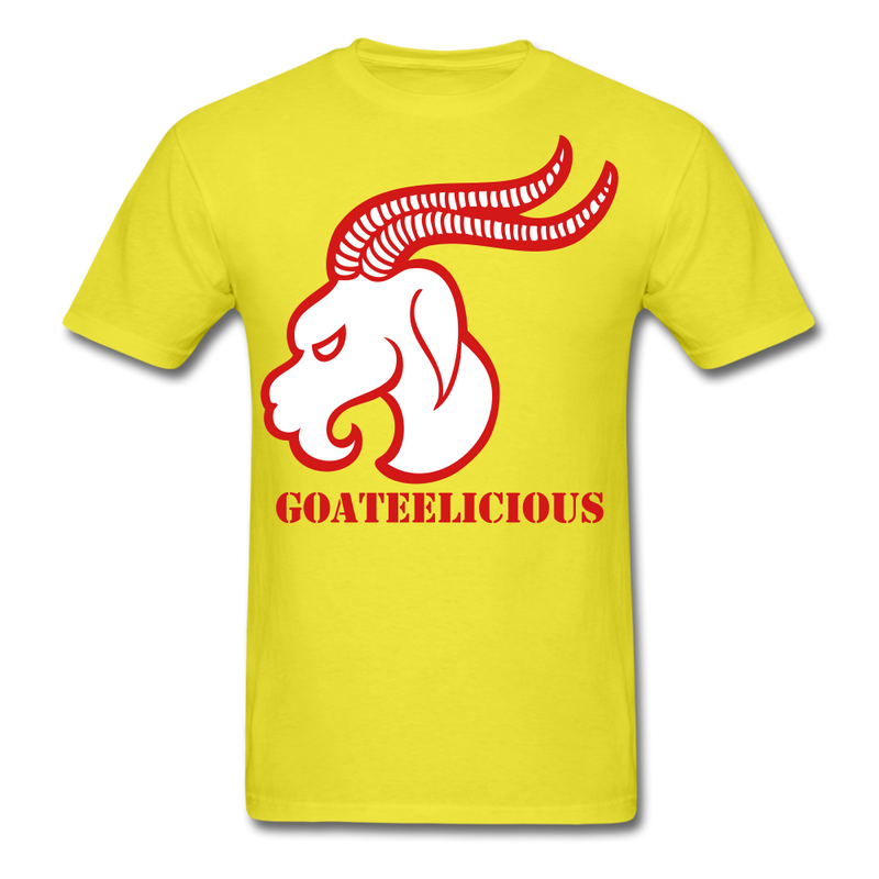 Goateelicious Men's T-Shirt - yellow