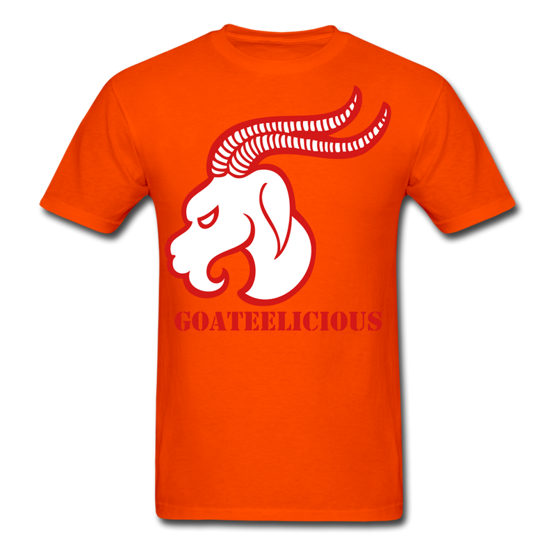 Goateelicious Men's T-Shirt - orange