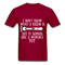 I Don't Know What A Razor IS, But It Sound Like A Woman's Toy Men's T-Shirt - dark red