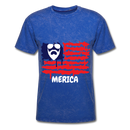 Beard Merica Men's T-Shirt - mineral royal