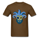 Carnival Beard  Men's T-Shirt - brown