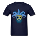 Carnival Beard  Men's T-Shirt - navy