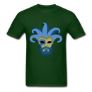 Carnival Beard  Men's T-Shirt - forest green