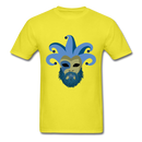 Carnival Beard  Men's T-Shirt - yellow