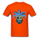 Carnival Beard  Men's T-Shirt - orange