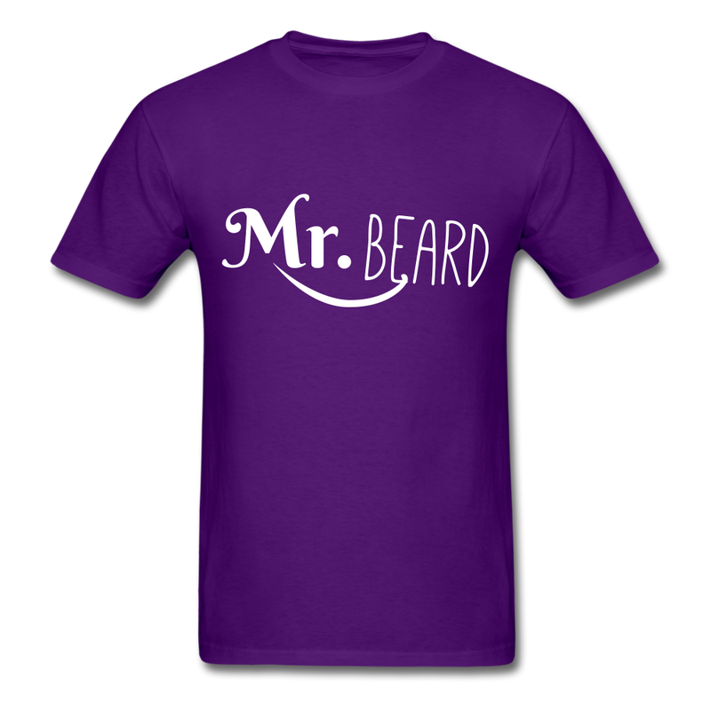Mr. Beard Men's-Shirt - purple