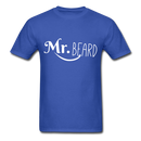Mr. Beard Men's-Shirt - royal blue