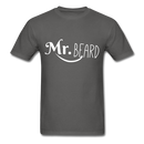 Mr. Beard Men's-Shirt - charcoal
