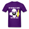 My Beard Is Here Men's T-Shirt - purple