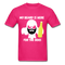 My Beard Is Here Men's T-Shirt - fuchsia