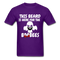 This Beard Is Here For The BooBees Men's T-Shirt - purple