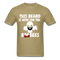 This Beard Is Here For The BooBees Men's T-Shirt - khaki