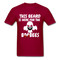 This Beard Is Here For The BooBees Men's T-Shirt - dark red