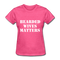 Bearded Wives Matters Women's T-Shirt - heather pink
