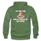 I'M The Cake And My Beard Is The Icing Gildan Heavy Blend Adult Hoodie - military green