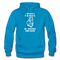 She Loved The Beard, She Enjoined The Cock Gildan Heavy Blend Adult Hoodie - turquoise