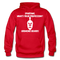 Spartans, What's Your Profession? Growing Beards Hoodie - red