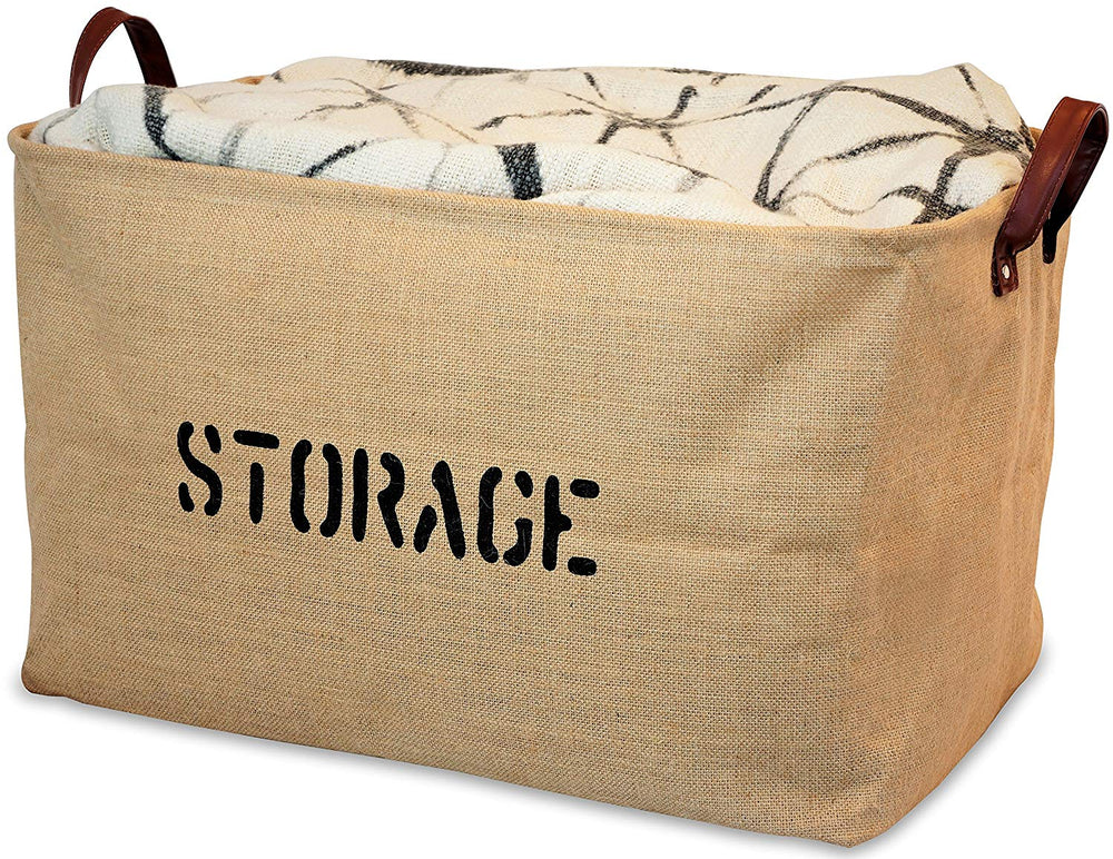 Jute Storage Basket - Extra Large