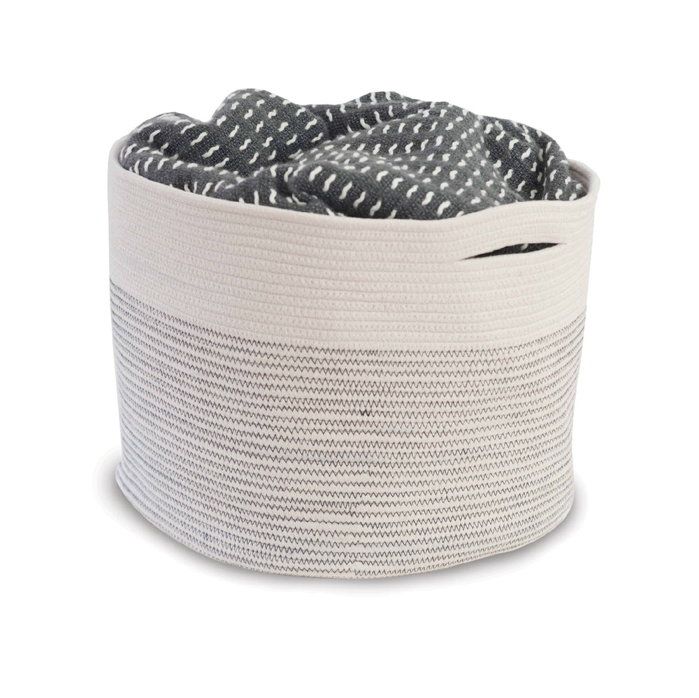 Natural Cotton Rope Basket