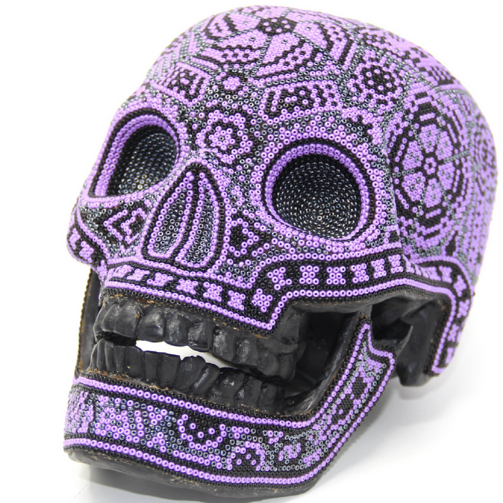 EDITION PURPLE M SKULL - M SKULL - Hikkuri Casa - Mr. Hikkuri