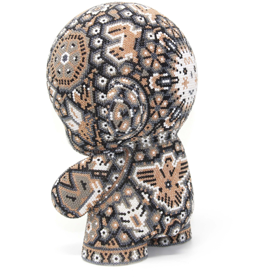 "GOLD MUNNY AUTHENTIC SPECIAL EDITION   7"" - Crystal Bead Munny - Hikkuri Casa - Mr. Hikkuri"