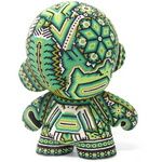 "GREEN MUNNY AUTHENTIC SPECIAL EDITION   7"" - Crystal Bead Munny - Hikkuri Casa"