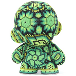 "GREEN MUNNY AUTHENTIC SPECIAL EDITION   4"" - Crystal Bead Munny - Hikkuri Casa"