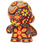 "FIRE MUNNY AUTHENTIC SPECIAL EDITION   4"" - Crystal Bead Munny - Hikkuri Casa - Mr. Hikkuri"