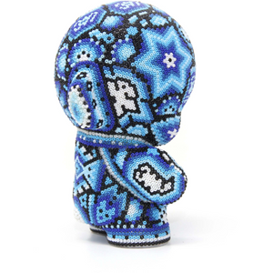 "BLUE MUNNY AUTHENTIC SPECIAL EDITION   4"" - Crystal Bead Munny - Hikkuri Casa"