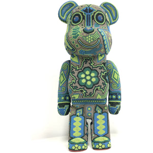 Huichol Art - BE@RBRICK 700% Inspired - Bear@Brick - Hikkuri Casa - Mr. Hikkuri