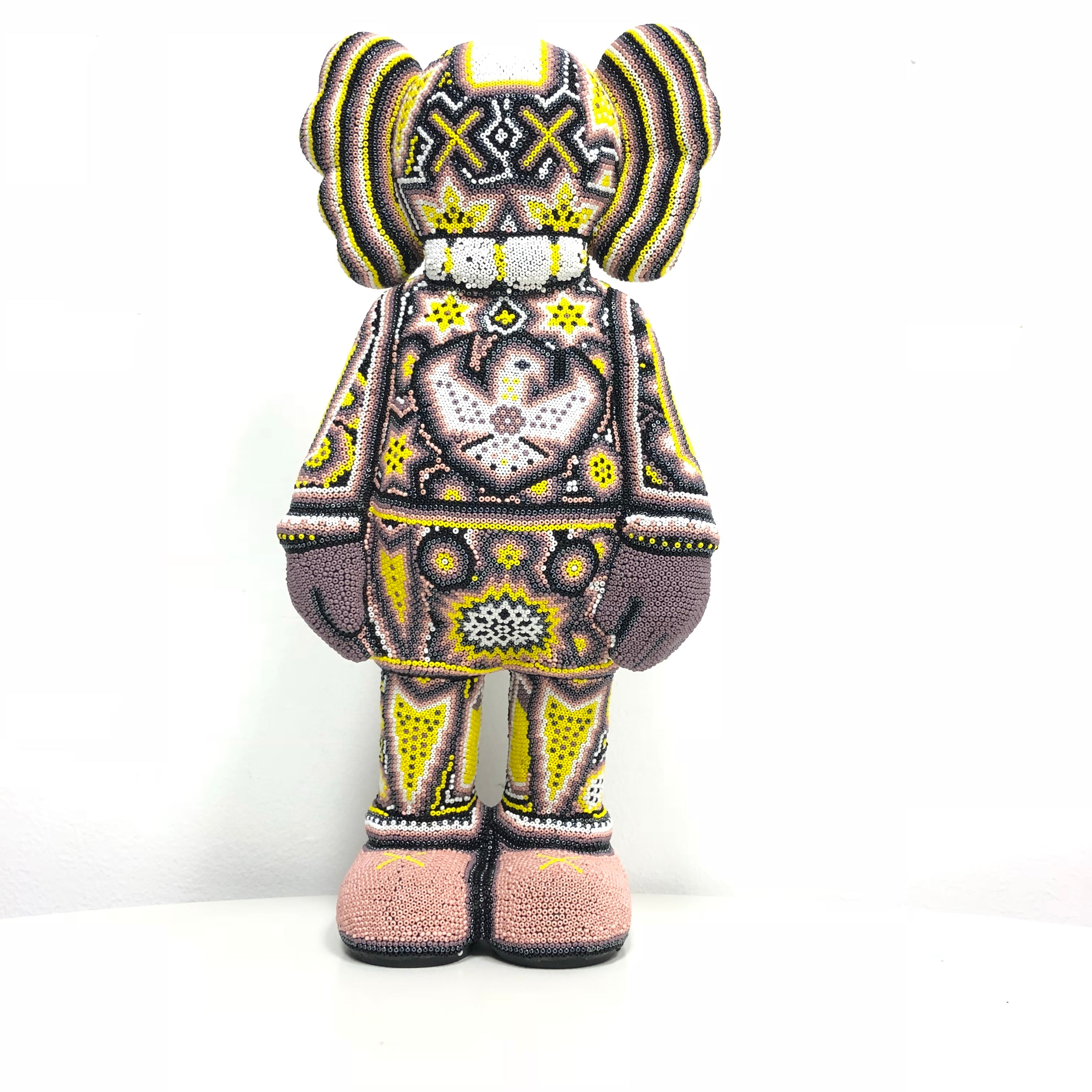 Kaws Inspired Cream Yellow -  - Hikkuri Casa - Mr. Hikkuri