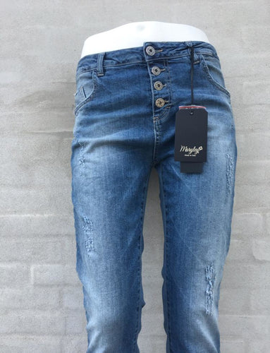 Maryley - Jeans med slid