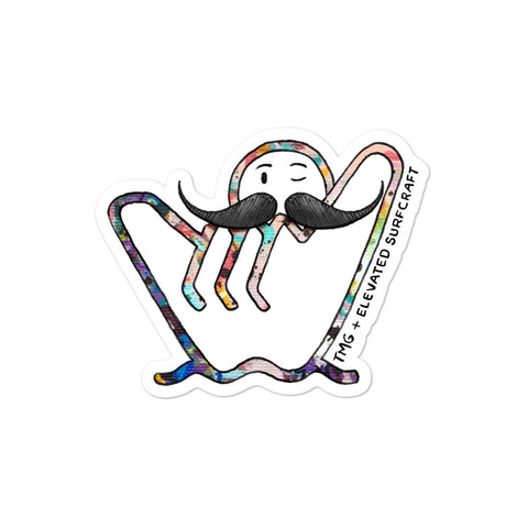 The Moustache Guy x ESC Bubble-free stickers