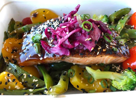 *218. Hoisin Salmon