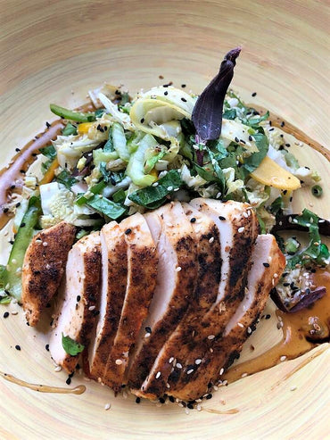 32. Sesame Ginger Chicken Salad