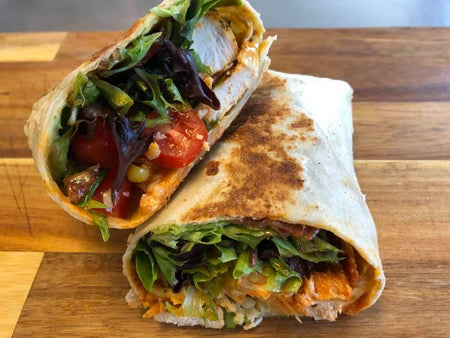 20. Buffalo Chicken Wrap