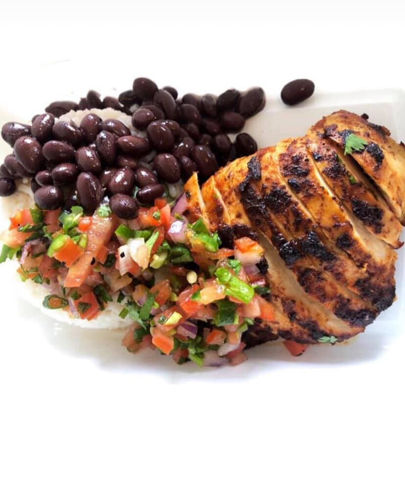 24. Pico de Gallo Blackened Chicken