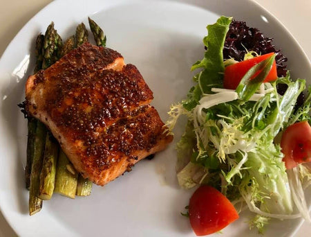 12. Dijon Glazed Salmon