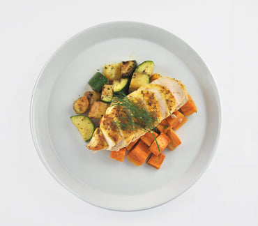 1. Grilled Chicken and Veggies